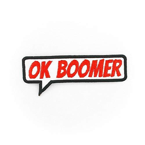 Ok Boomer meme Parche Bordado para Planchar o Coser
