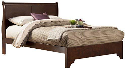 Alpine Furniture West Haven Sleigh Bed, Full