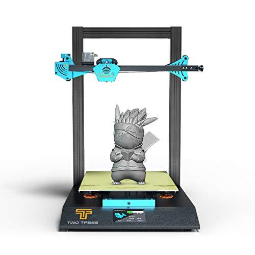 Twortees Bluer PLUS Neue Version 3D Drucker Kit 300 *300 *400 mm Druckbereich mit TMC209 / MKS Robin Nano/Unterstützung für die automatische Wiederaufnahme/Filamenterkennung Automatische Nivellierung