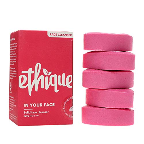 Ethique Eco-Friendly Face Cleansing Bar for All Skin Types, In Your Face -...