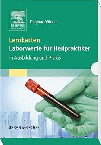 Lernkarten Laborwerte für Heilpraktiker: in Ausbildung und Praxis