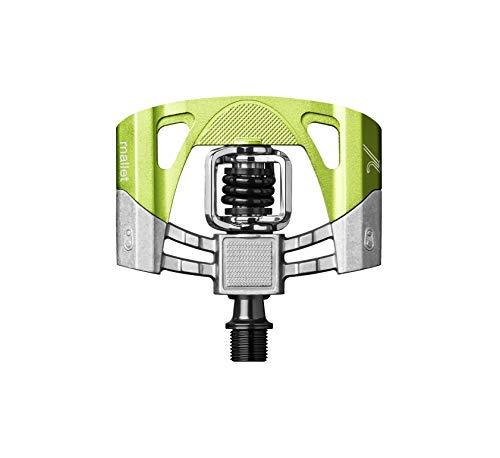 Crankbrothers Mallet 2 - Pedales MTB - Verde/Plateado 2016