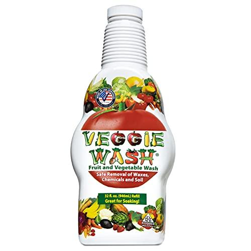Veggie Wash Fruit & Vegetable Wash, 32-Fluid Ounce