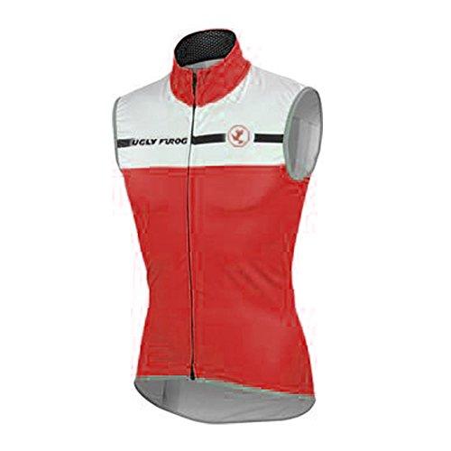 Uglyfrog Chalecos Ciclismo 2019 Primavera/Verano Moda Hombre Sin Mangas Jersey Ropa Bicicleta Transpirable Secado Rápido MJX01
