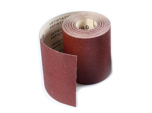 Sungold Abrasives 66824 Hook and Loop F-Heavy Weight Paper 120 Grit Rolls for Drum Sanding Machines, 3