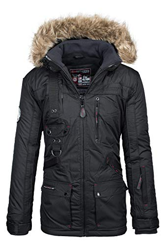Geographical Norway - Chaqueta - Parka - para hombre negro XXX-Large