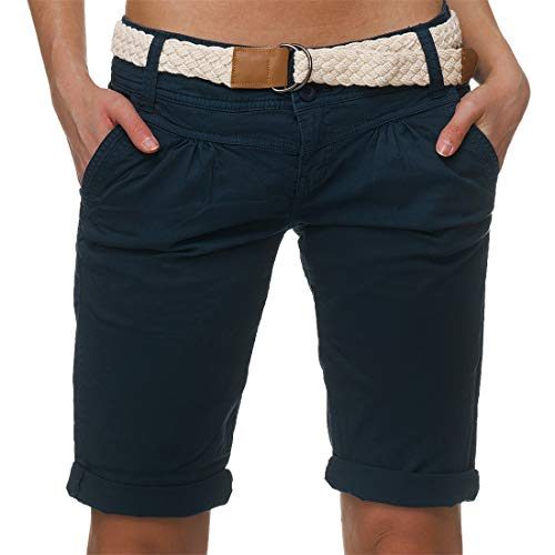 Cipo & Baxx Damen Shorts WK156 Dunkelblau L