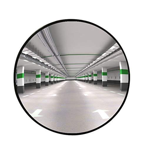 GXFC Convex Spiegel, voor oprit, garage en magazijn Veiligheid of opslag en kantoorbeveiliging, met verstelbare beugels voor blinde vlekken en hoeken