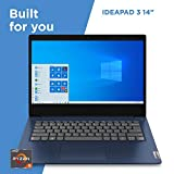Lenovo IdeaPad 3 14' Laptop, 14.0' FHD (1920 x 1080) Display, AMD Ryzen 5 3500U Processor, 8GB DDR4 RAM, 256GB SSD, AMD Radeon Vega 8 Graphics, Narrow Bezel, Windows 10, 81W0003QUS, Abyss Blue
