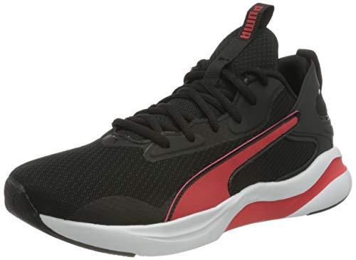 PUMA Softride Rift, Zapatillas para Correr de Carretera Hombre, Negro Black/High Risk Red, 48.5 EU