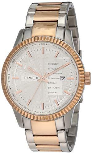 Timex - Reloj de pulsera para hombre, clase E, color plateado