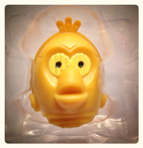 Star Wars Angry Birds Telepods Series 2 - EXCLUSIVE C-3PO Yellow Variant