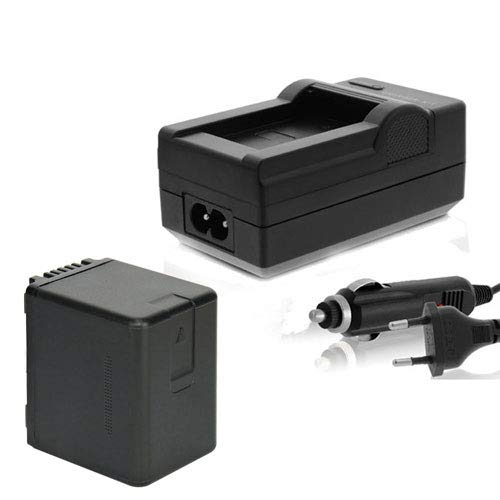 Akku Ladegerät kompatibel mit Panasonic HC-V180 V270 V380 V510 V727 V777 V757 Ersatz ACCU VW-VBT380 mit 3500mAh Li-ion (Nicht für VXF11 VX11 V808)