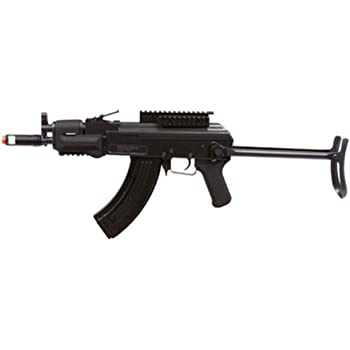 Amazon Com Soft Air Colt Cqbr Ris Electric Powered Airsoft Gun With Adjustable Hop Up 350 380 Fps Sports Outdoors