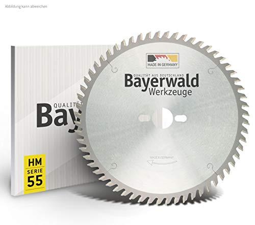 Bayerwald - HM Tischkreissägeblatt für Holz - Ø 250 mm x 2,8 mm x 30 mm | Wechselzahn (60 Zähne) | passend für ERIKA 85 Ec