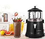 YUCHENGTECH 5L Commercial Hot Chocolate Maker Machine Chocolate Dispenser Warmer Hot Beverage Warmer for heating Chocolate Coffee Milktea CE Certification (110V, 5L)
