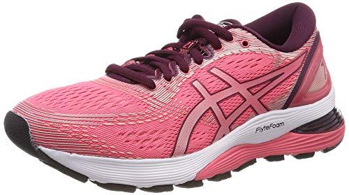 Asics Gel-Nimbus 21, Zapatillas de Running para Mujer, Rosa (Pink Cameo/Bakedpink 700), 40 EU