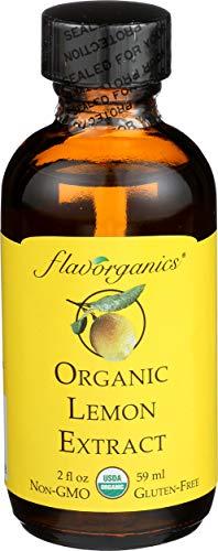 Flavorganics Organic Extract, Lemon, 2 Ounce