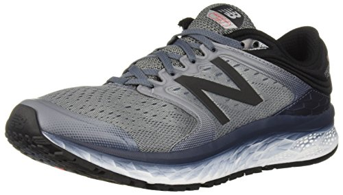 New Balance Men's Fresh Foam 1080 V8 Running Shoe, Gunmetal/Thunder, 12 2E US