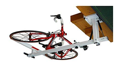 flat-bike-lift ist der hydropneumatische Fahrrad Deckenlift, den Sie in Ihrer Garage oder in dem Raum verwenden können, in dem Sie Ihr Fahrrad abstellen oder parken