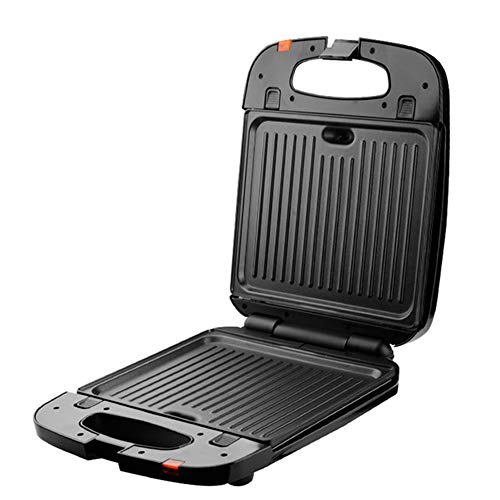 LYGACX Multifunktionsgerät 3-in-1 Fiesta (Sandwich Maker, Waffeleisen, Kontaktgrill), spülmaschinengeeignete & antihaftbeschichtete Platten