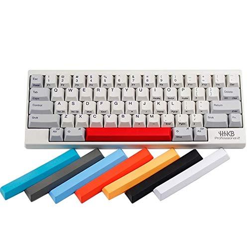 キーキャップ メカニカルキーボードキャップ 東プレRealforce Hhkbコンデンサキーボードキーキャップ多色キャップPBT素材ミックスカラーホワイトブラックレッドブルースペースバー PCアクセサリ (Color : Kit10)