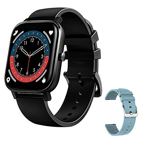 LDJ MT2 Pantalla Cuadrada A Prueba De Agua Smartwatch Bluetooth Call Grabación 4G Memory Metter Heart Rate Monitoring Sports Smart Watch para iOS Android,E