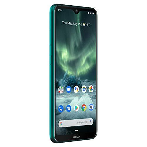 Nokia 7.2 - Android 9.0 Pie - 128 GB - Single SIM - Green