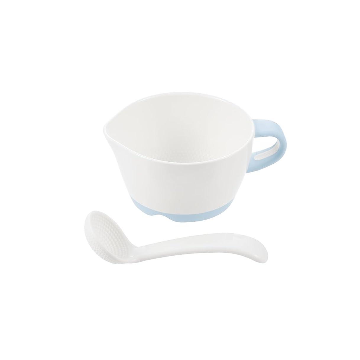 眉湖彼女のリッチェル Richell トライ 調理もできる離乳食カップ(すりつぶしスプーン付)
