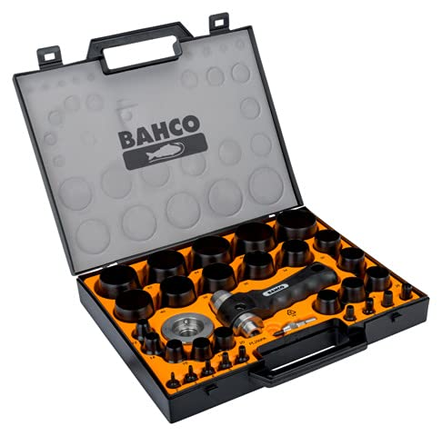 BAHCO BH400.002.050 HOLLOW PUNCHES SET 2 TO 50
