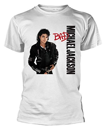 Official Michael Jackson Bad T-shirt