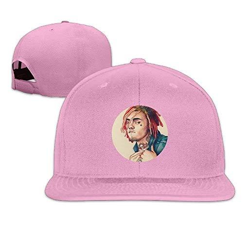 Hats Lil Pump Boss Unisex Flat Brim Baseball Hats 100% Cotton Adjustable Hip Hop Caps Retro Net red 5089