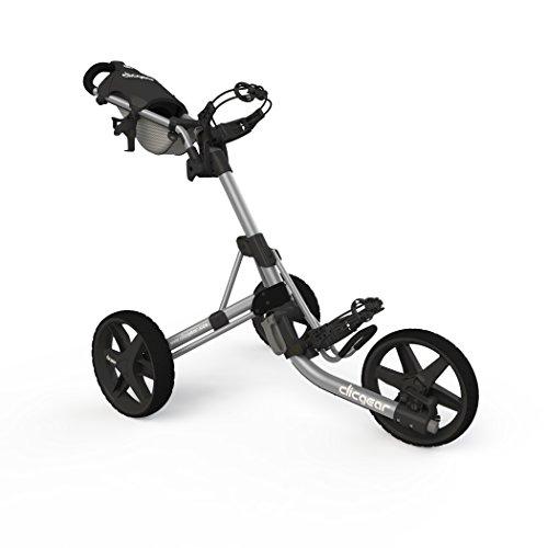 Clicgear Model 3.5+ | 3-Wheel Golf Push Cart (Silver/Black)