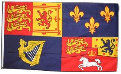 Digni Drapeau Royaume-Uni Royal Banner 1714-1801 Maison de Hanovre - 90 x 150 cm Sticker Gratuit