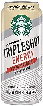12-Pack Starbucks Tripleshot Energy Extra Strength Espresso Coffee