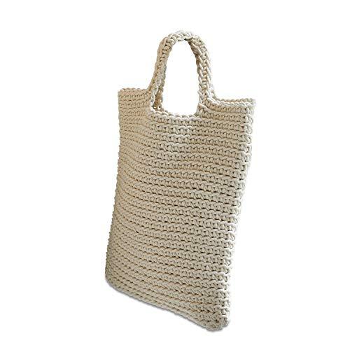 Loberon Tasche Sivas, Baumwolle, H/B ca. 40/36 cm, beige