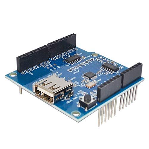 ARCELI USB Host Shield para Arduino UNO Mega 2560 Soporte Google Android ADK USB HUB