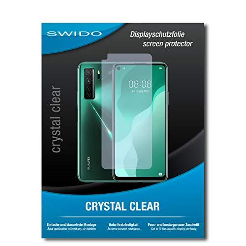 Swido - Protector de pantalla para Huawei nova 7 SE (2 unidades), transparente