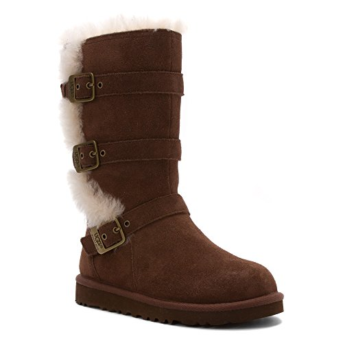 UGG Australia Infants' Maddi Shearling Boots,Chocolate