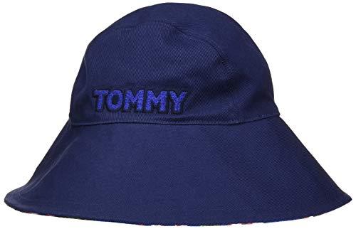 Tommy Hilfiger Damen Feminine Summer HAT Trilby, Blau (Tommy Navy 413), One Size (Herstellergröße:OS)