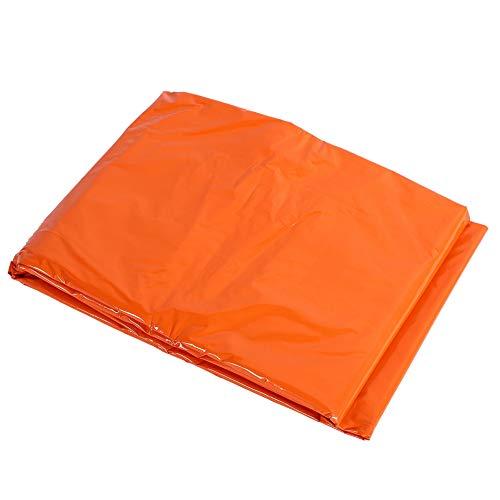 Zer one Notfallzelt, Outdoor Rettungszelt Thermozelt Compact Ultra Leichte Schlafsack Wasserdichte Überleben Camping Reisezelt Outdoor Notfall Zubehör