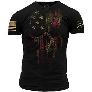 Grunt Style American Reaper 2.0 - Men s T-Shirt  Black Medium