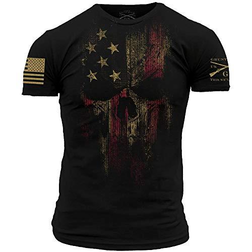 Grunt Style American Reaper 2.0 - Men's T-Shirt (Black, Medium)
