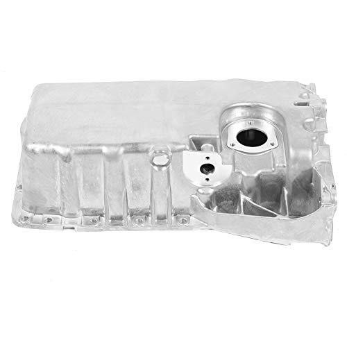 Cárter de aceite del motor de automóvil, accesorio de motor de cárter de aceite del motor de automóvil de aluminio apto para A3 TT 1.8T 1996 > 2006 243CSD14705 038103603 M