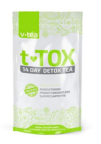 Detox Tea Cleanse 100% Organic Weight Loss Teatox
