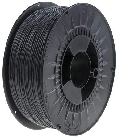 RS PRO 1.75mm Grey PLA 3D Printer Filament, 1kg