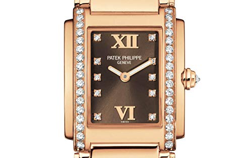 Patek Philippe Twenty4 Rose Gold 4910-11R-010 with Chocolate Dream dial