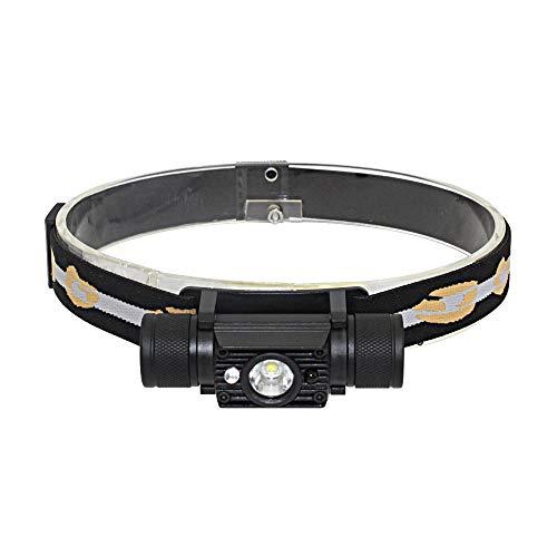 FCS Lampade da Testa 1200lm 10w Mini Ir Sensor Headlight XM L2 LED Headlight Torcia Ricaricabile USB Ricaricabile 18650 Torcia della Batteria 18650 Torcia della Testa della Batteria