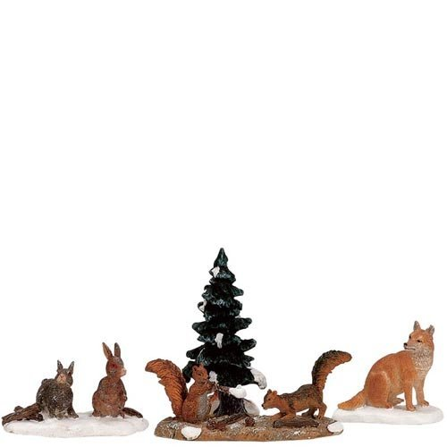 Carole Towne Woodland Animals by Lemax