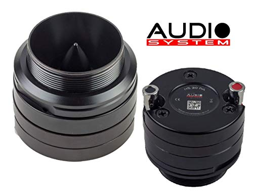 Audio System HS30 PA 30 mm HIGH-Efficience Hochtöner CAR-PA 1 Paar Tweeter